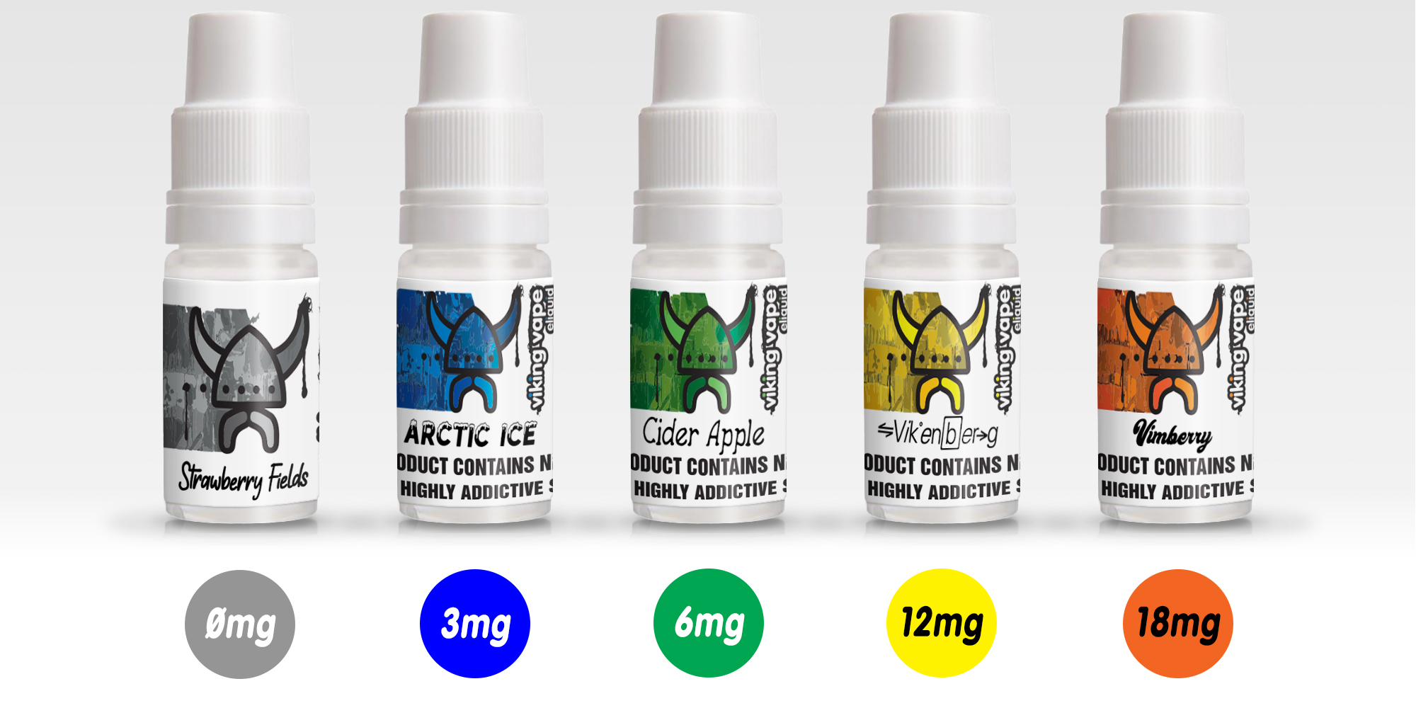 Viking Vape Nicotine Strength
