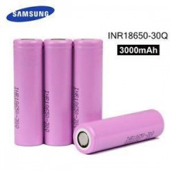 Samsung INR18650-30Q High Drain Batteries 3000 mAh - 2 pack