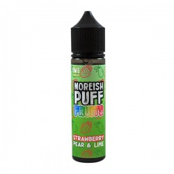 Moreish Puff Fruits 50ml - Strawberry Pear & Lime