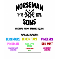 NORSEMAN & SONS 100ml Shortfill