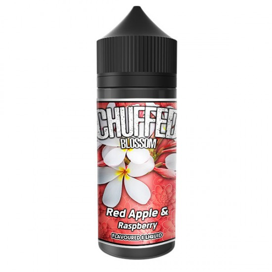 Chuffed Blossom 100ml - Red Apple and Raspberry