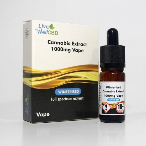 CBD WINTERISED VAPE 1000MG